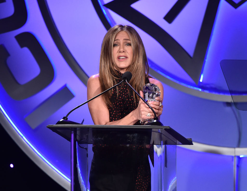 Jennifer Aniston Found Her First Audition Tape While Cleaning Closets