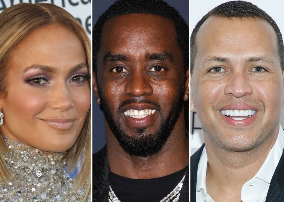 Jennifer Lopez, Diddy, Alex Rodriguez