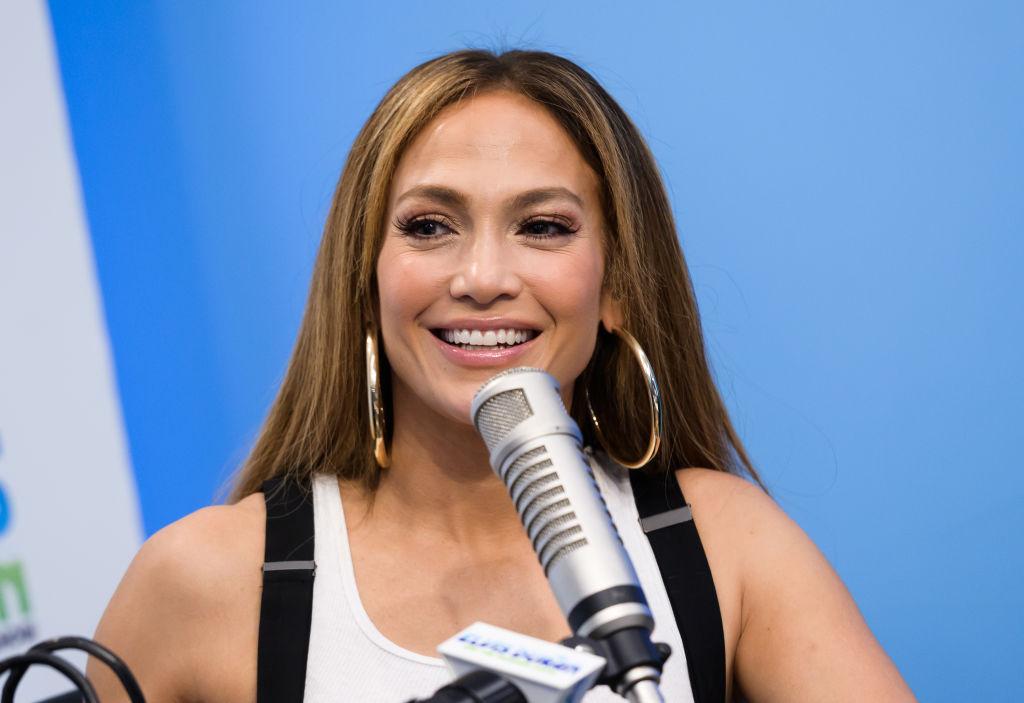 Jennifer Lopez in a radio interview in April 2019 in New York City