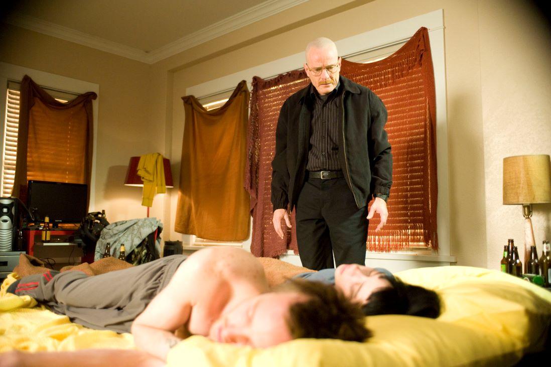 Jesse Pinkman, Jane Margolis, and Walter White
