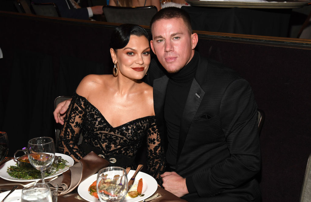 Jessie J and Channing Tatum at an event in January 2020