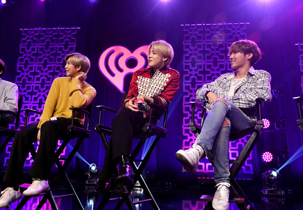 RM, Jimin, and J-Hope of 'BTS'