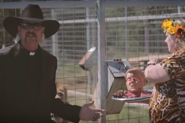 Netflix's 'Tiger King': Why Joe Exotic is Dressed Like a Priest in His Music Videos