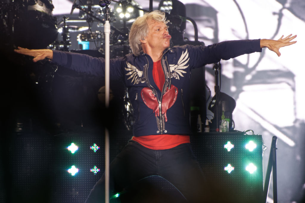 Jon Bon Jovi performs in Dusseldorf