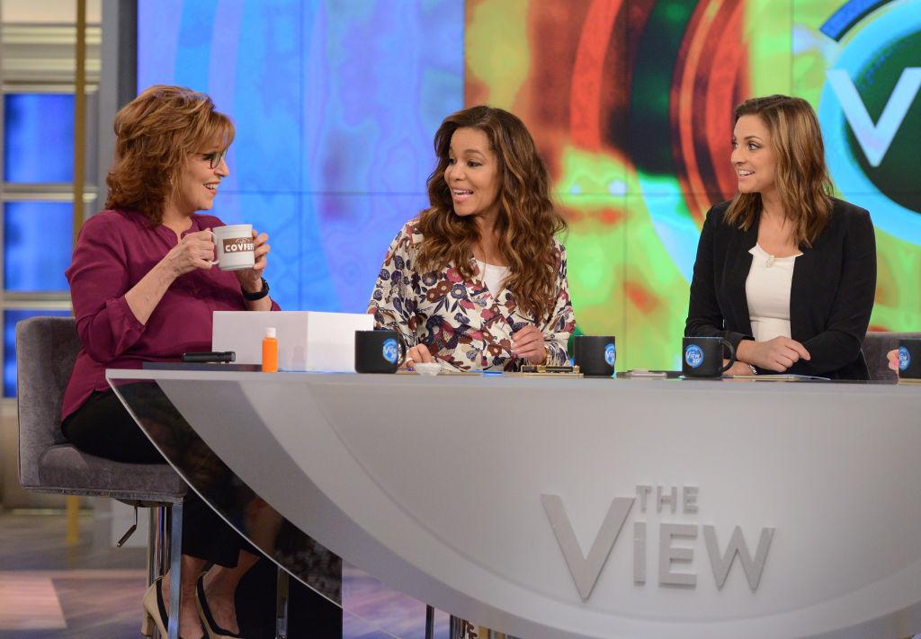 Joy Behar, Sunny Hostin, and Paula Faris of 'The View'