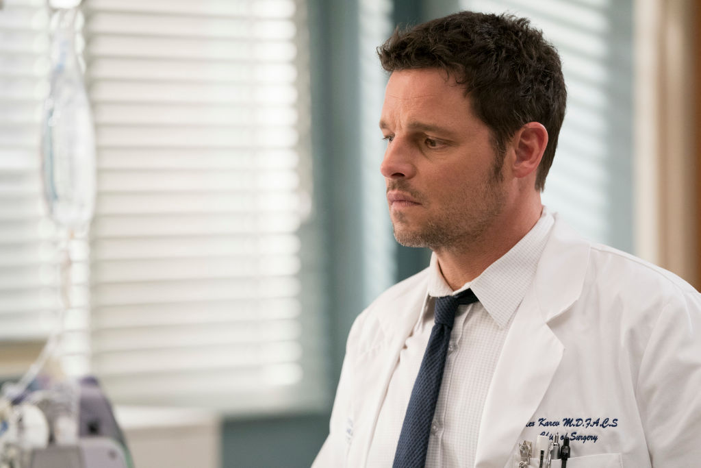 Justin Chambers as Alex Karev on 'Grey's Anatomy'