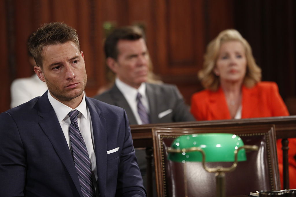 Justin Hartley as Adam Newman on 'The Young and the Restless'