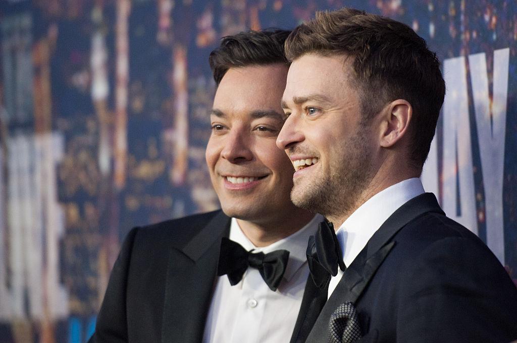 Justin Timberlake (R) and Jimmy Fallon (L)