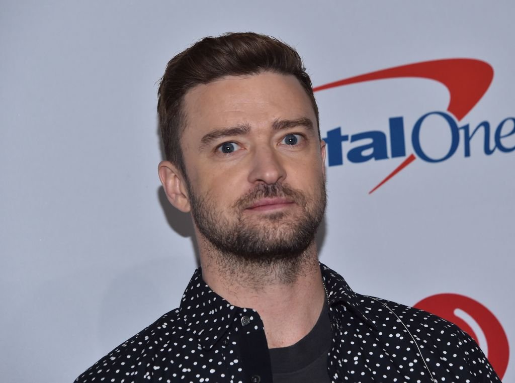 Justin Timberlake at an event in September 2018