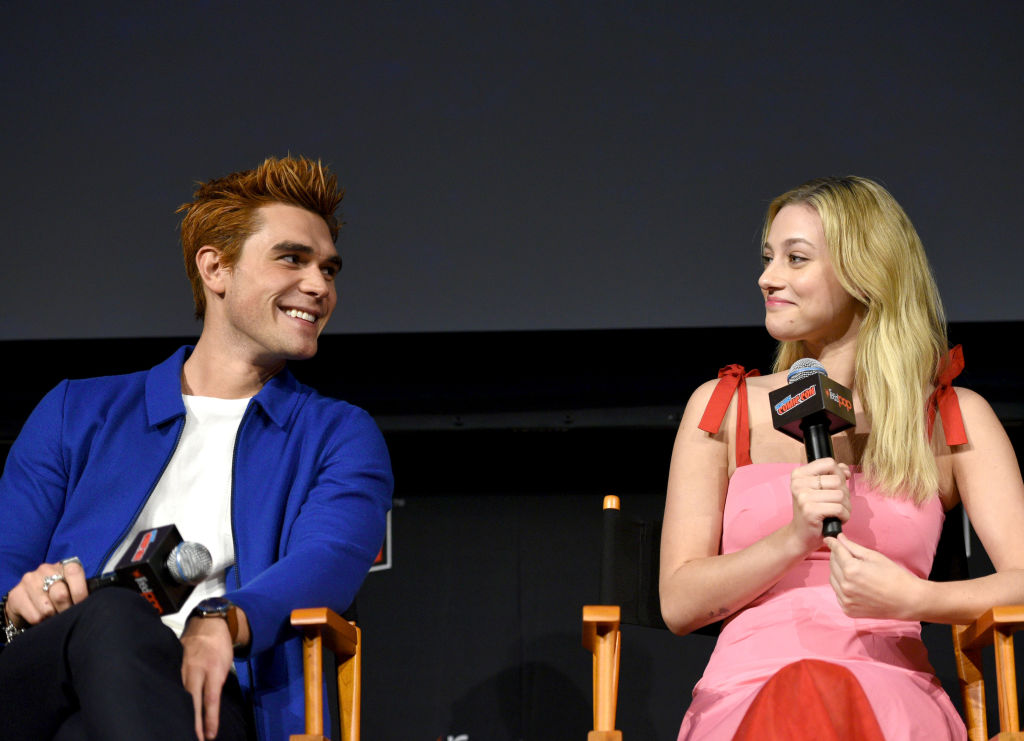 KJ Apa and Lili Reinhart
