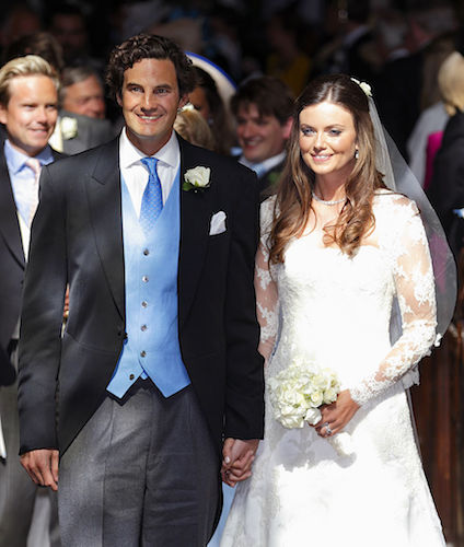 Finch wed Lady Natasha Rufus Isaacs in 2014