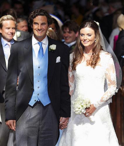 Finch wed Lady Natasha Rufus Isaacs in 2014