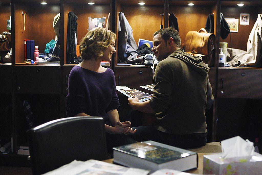 Katherine Heigl as Izzie Stevens and Justin Chambers as Alex Karev on 'Grey's Anatomy' Season 6