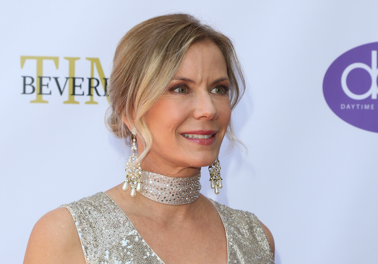 Katherine Kelly Lang on the red carpet