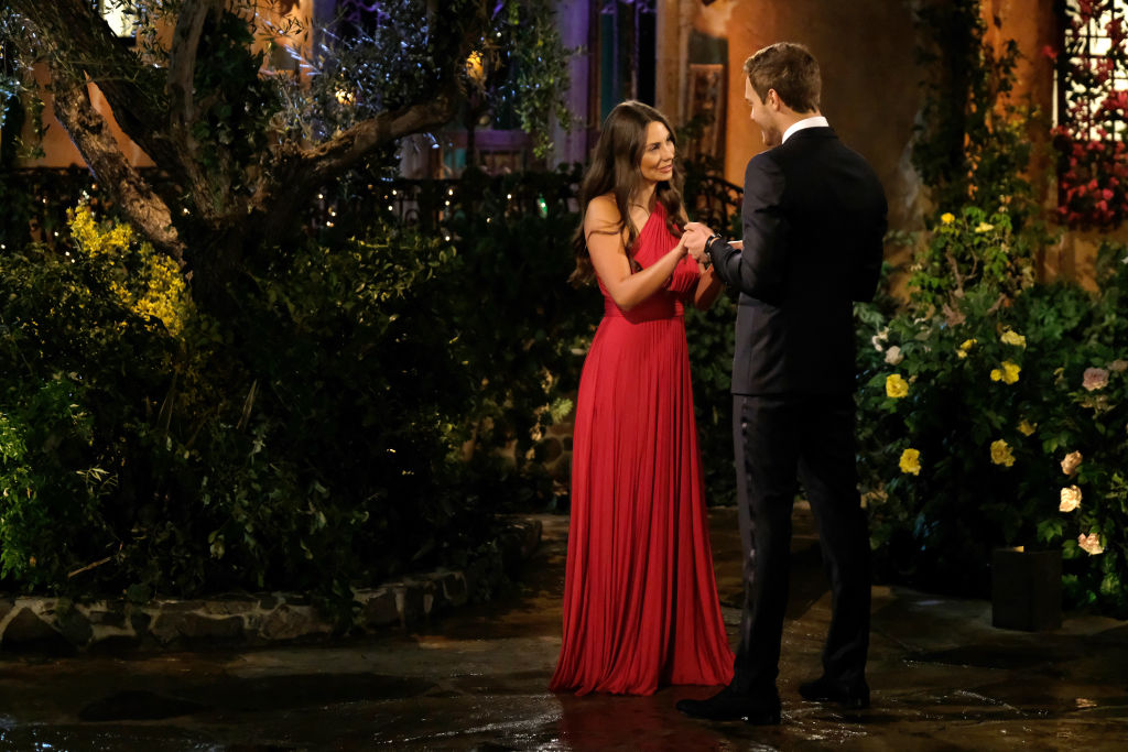 Kelley Flanagan and Peter Weber on The Bachelor