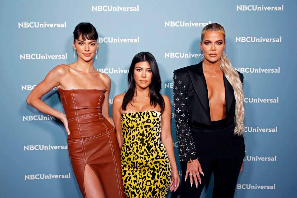 Kendall Jenner, Kourtney Kardashian, Khloe Kardashian at NBCUniversal Upfront Events - Season 2019