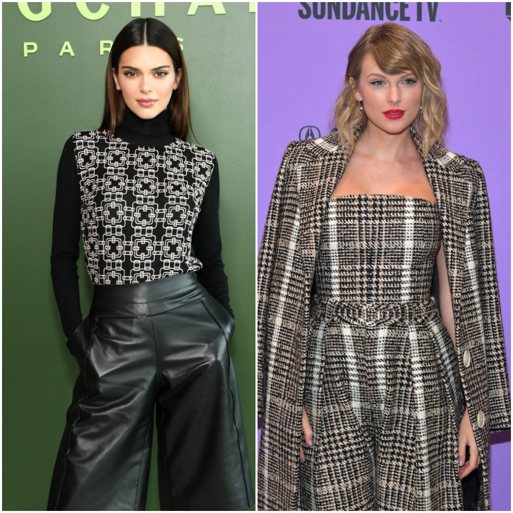 Kendall Jenner and Taylor Swift