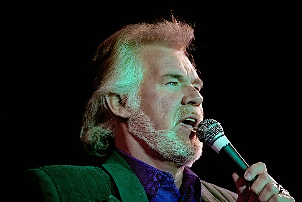 Kenny Rogers during the 50th anniversary show from the studios of Voice of America in 1992.   Mark Reinstein/Corbis via Getty Images