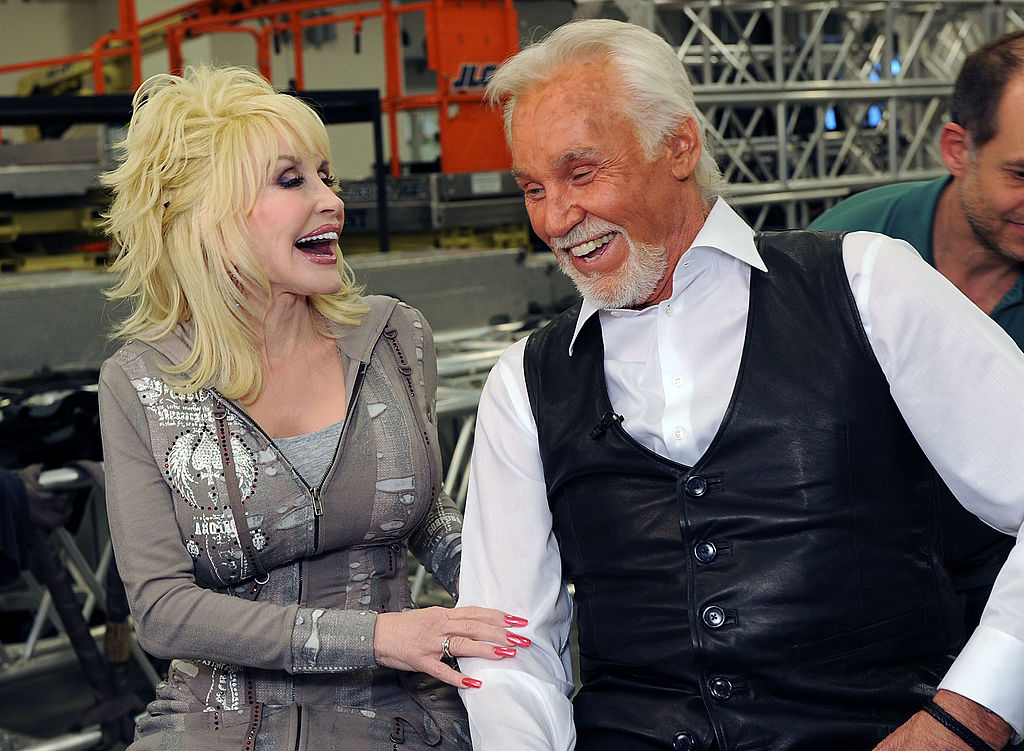 Kenny Rogers and Dolly Parton    Rick Diamond/Getty Images