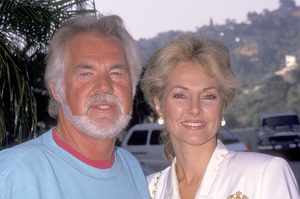 Kenny Rogers and Marianne Gordon | Ron Galella, Ltd./Ron Galella Collection via Getty Images