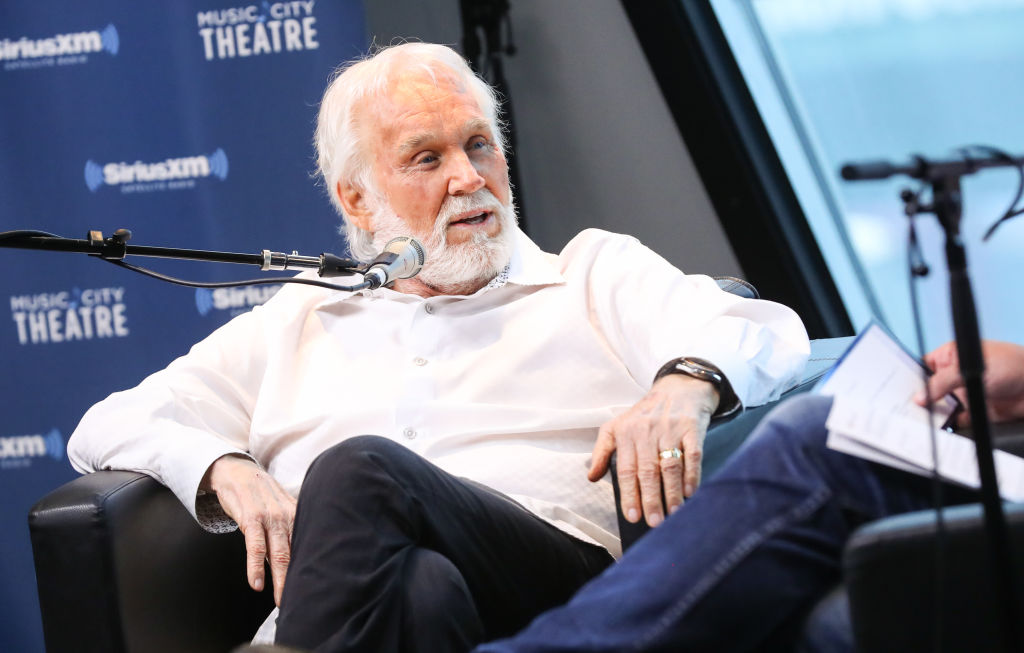 Kenny Rogers at SiriusXM's 'Town Hall' |  Terry Wyatt/Getty Images for SiriusXM