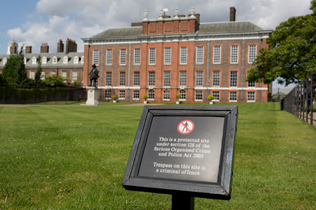 The exterior of Kensington Palace | Richard Baker / In Pictures via Getty Images