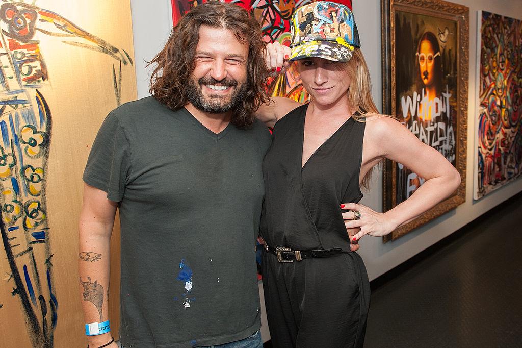"""Artist Domingo Zapata and curator Kerri Lisa of Bravo's """"Gallery Girls"""""""