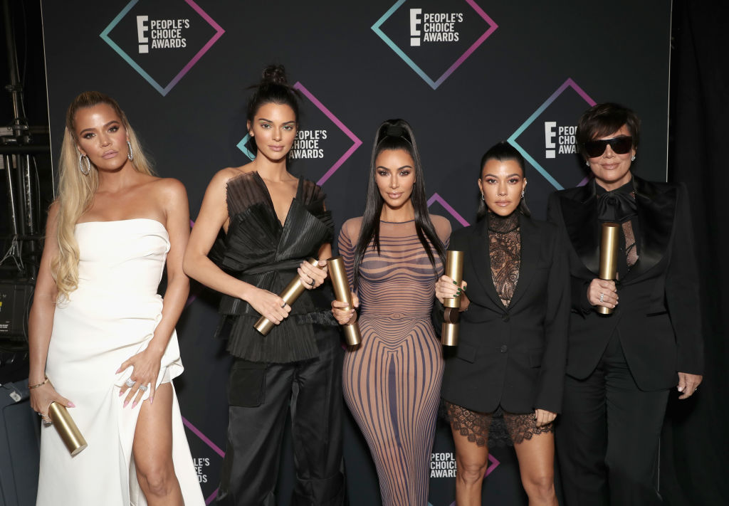 KUWTK fight stars Khloé Kardashian, Kendall Jenner, Kim Kardashian West, Kourtney Kardashian, and Kris Jenner