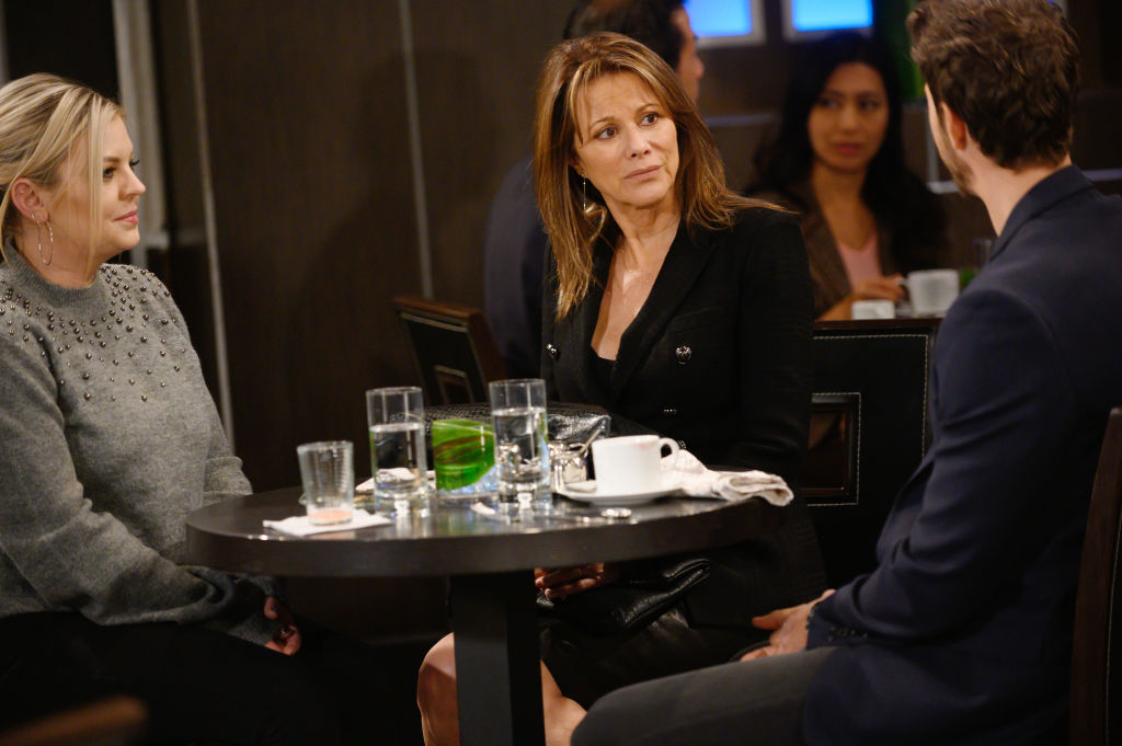 Kirsten Storms and Nancy Lee Grahn on 'General Hospital'