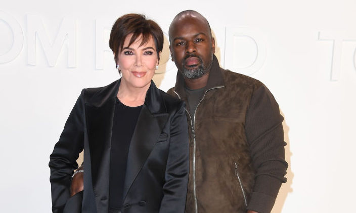 Kris Jenner and Corey Gamble at an event in February 2020 in Hollywood, California