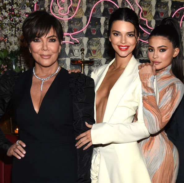 Kris, Kendall, and Kylie Jenner