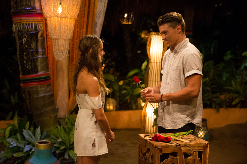 Dean Unglert and Kristina Schulman on 'Bachelor in Paradise'