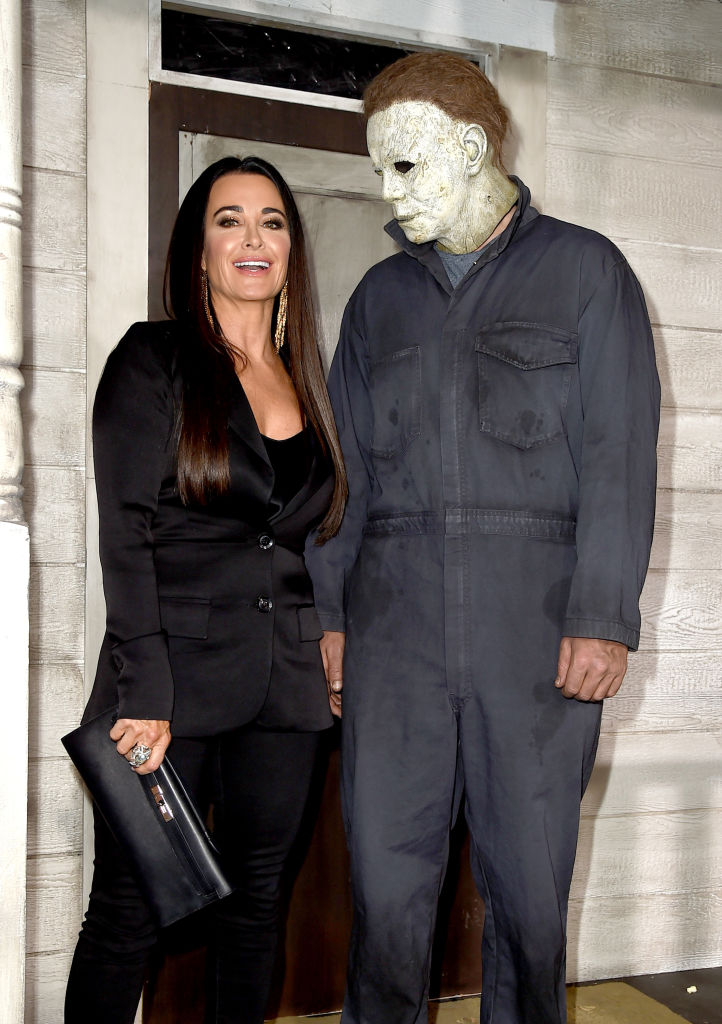 """Kyle Richards arrives at the premiere of Universal Pictures' """"Halloween"""""""