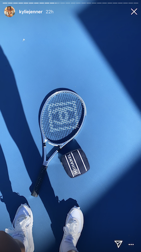 A set of similar Chanel racquets costs $600