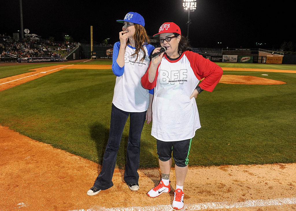 A League of Their Own stars Geena Davis and Rosie O'Donnell
