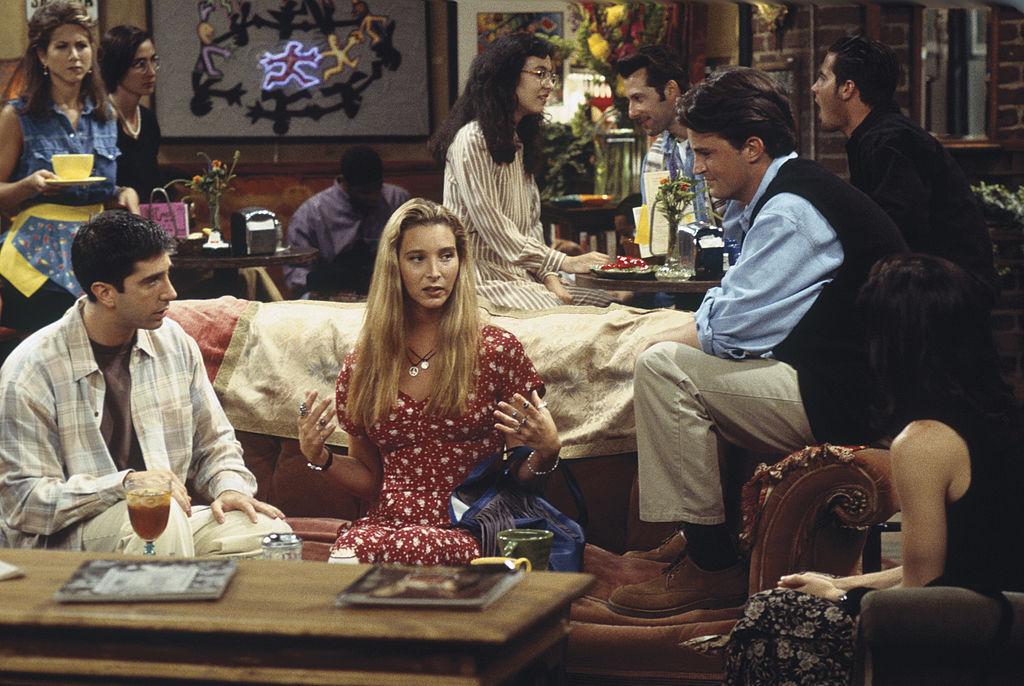 Lisa Kudrow on Friends