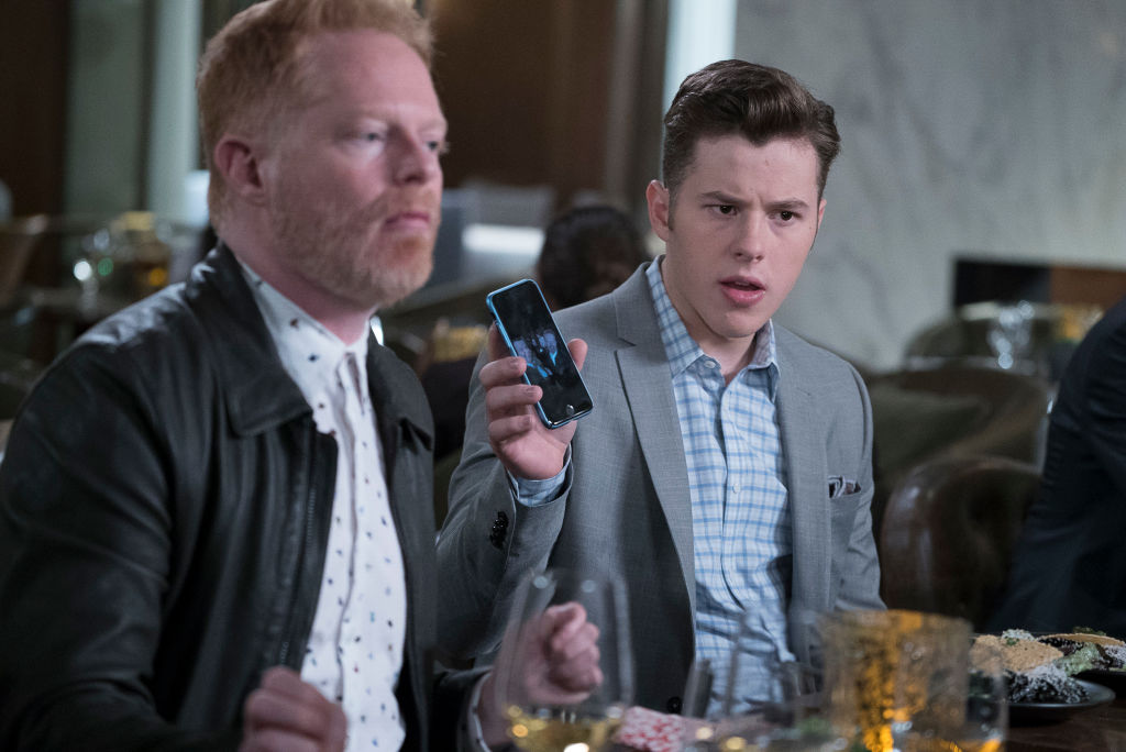 Characters Luke and Mitch of 'Modern Family'
