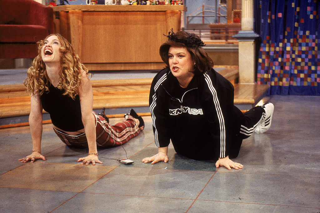 Madonna on The Rosie O'Donnell Show