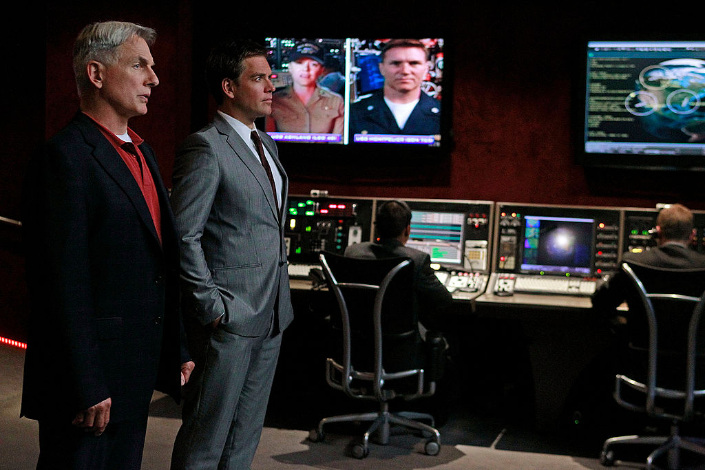 Mark Harmon and Michael Weatherly on NCIS   Cliff Lipson/CBS via Getty Images