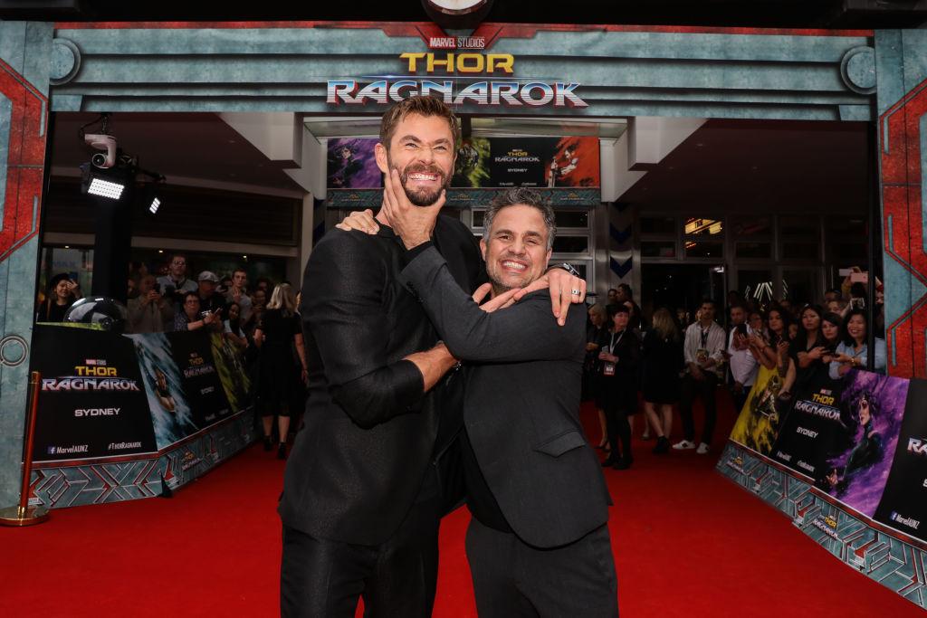 Chris Hemsworth and Mark Ruffalo MCU