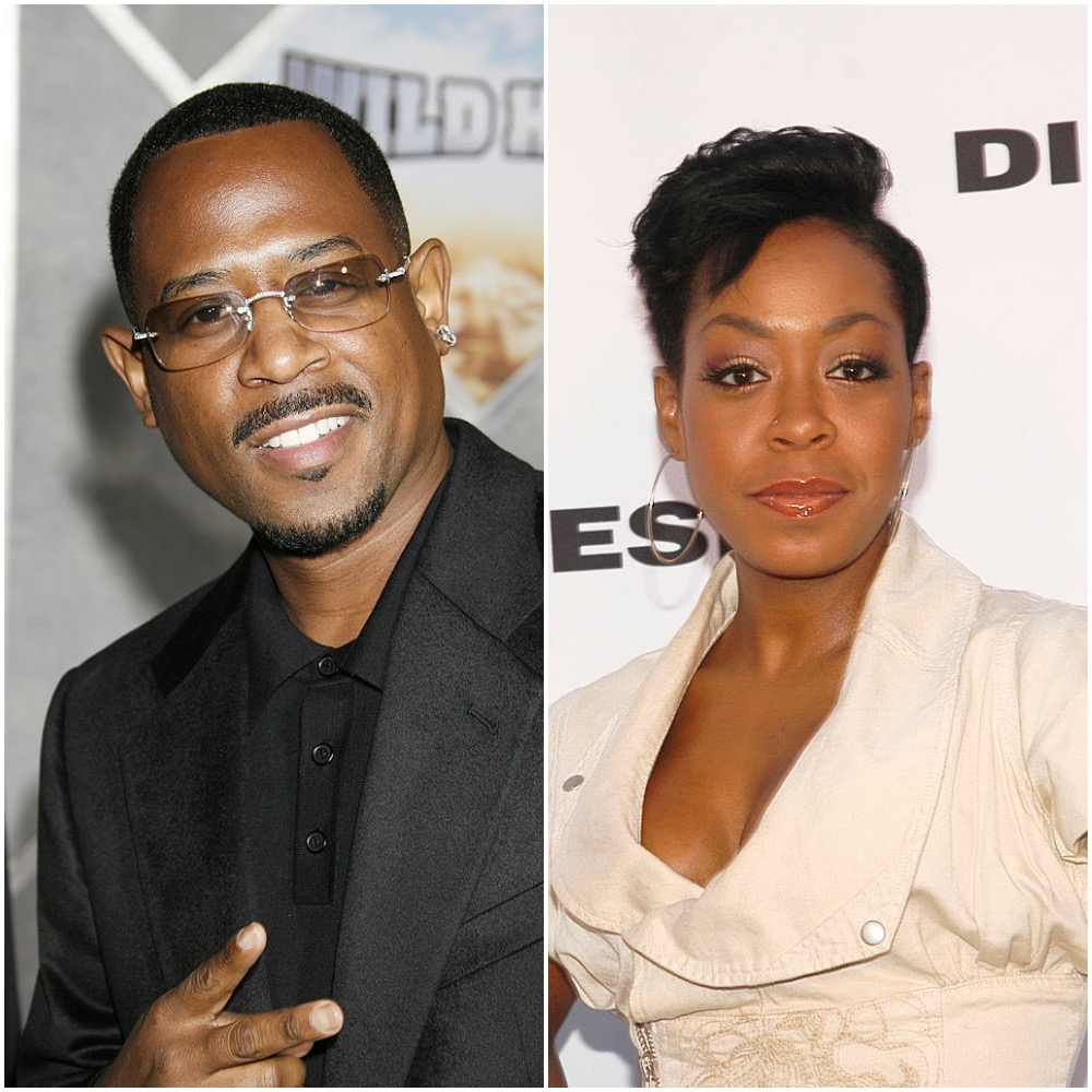 Martin Lawrence and Tischina Arnold
