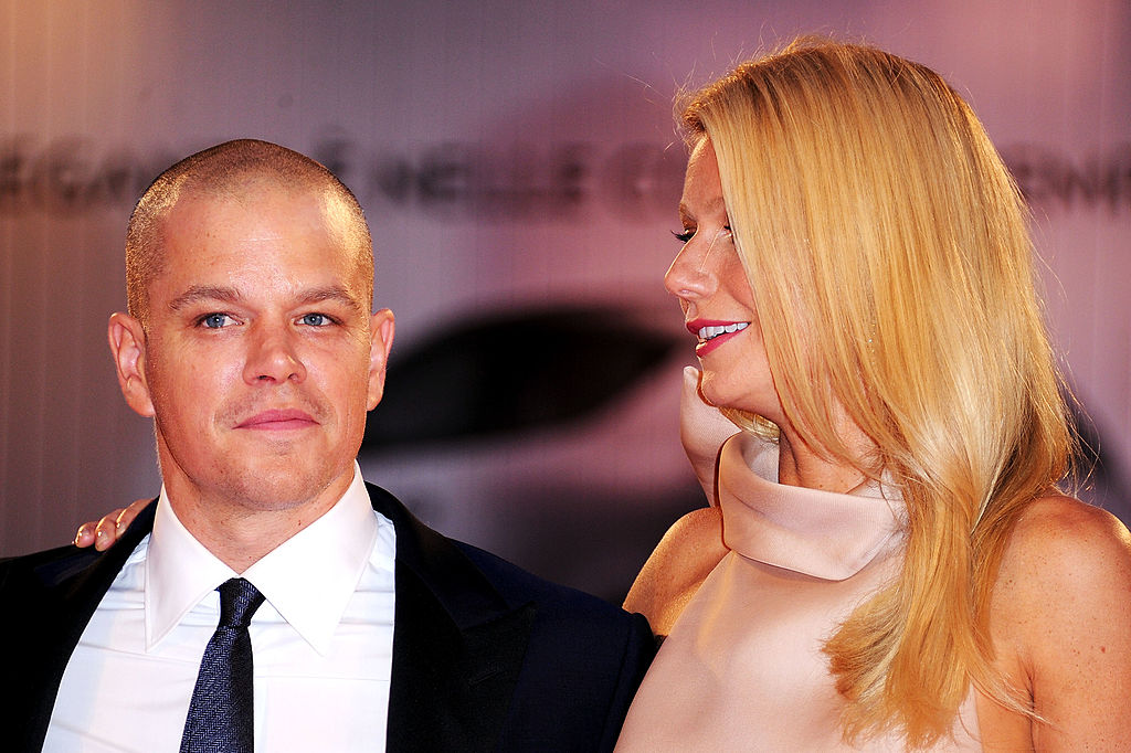Actors Matt Damon and Gwyneth Paltrow of 'Contagion'