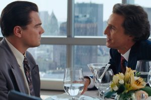 Matthew McConaughey Wrote an Encyclopedia For His 'Wolf of Wall Street' Character