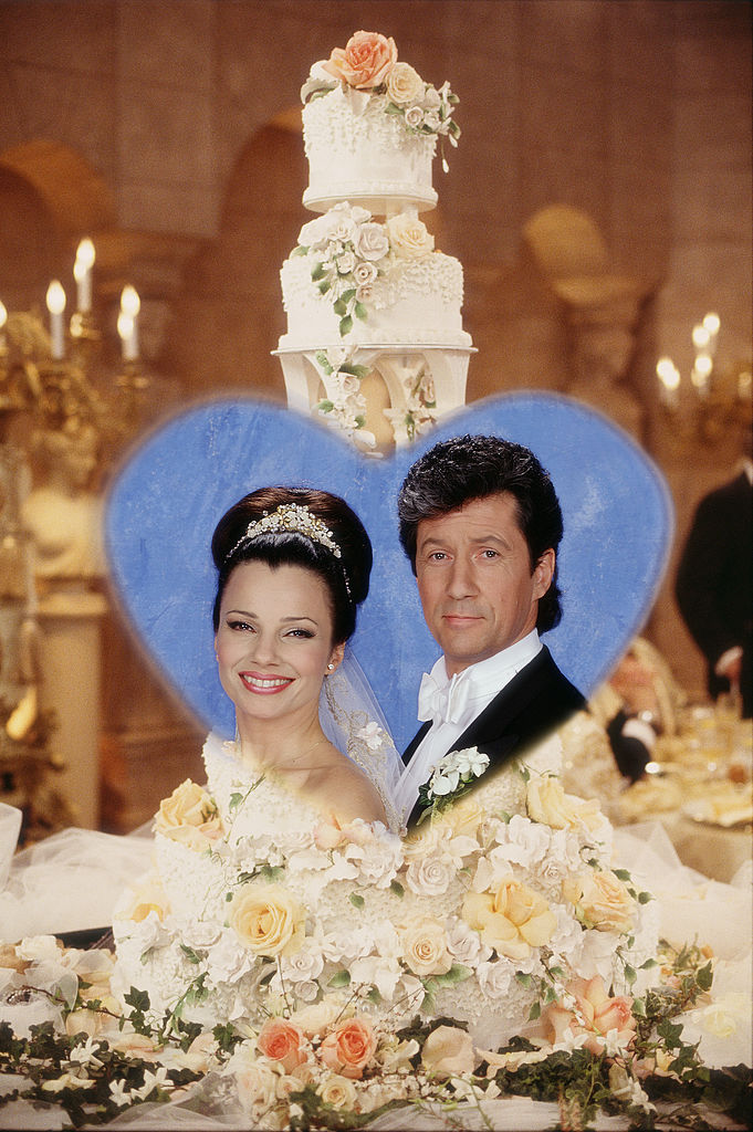 Fran Fine and Maxwell Sheffield get married in 'The Nanny'