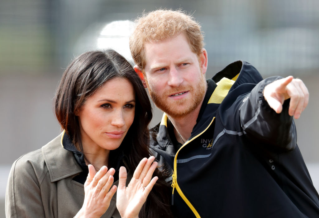 Meghan Markle and Prince Harry attend the UK Team Trials for the Invictus Games Sydney 2018