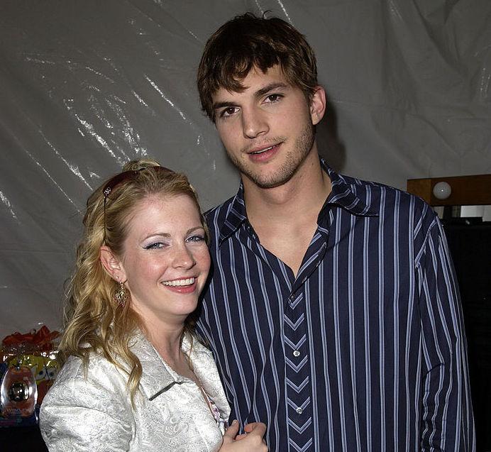 Melissa Joan Hart and Ashton Kutcher