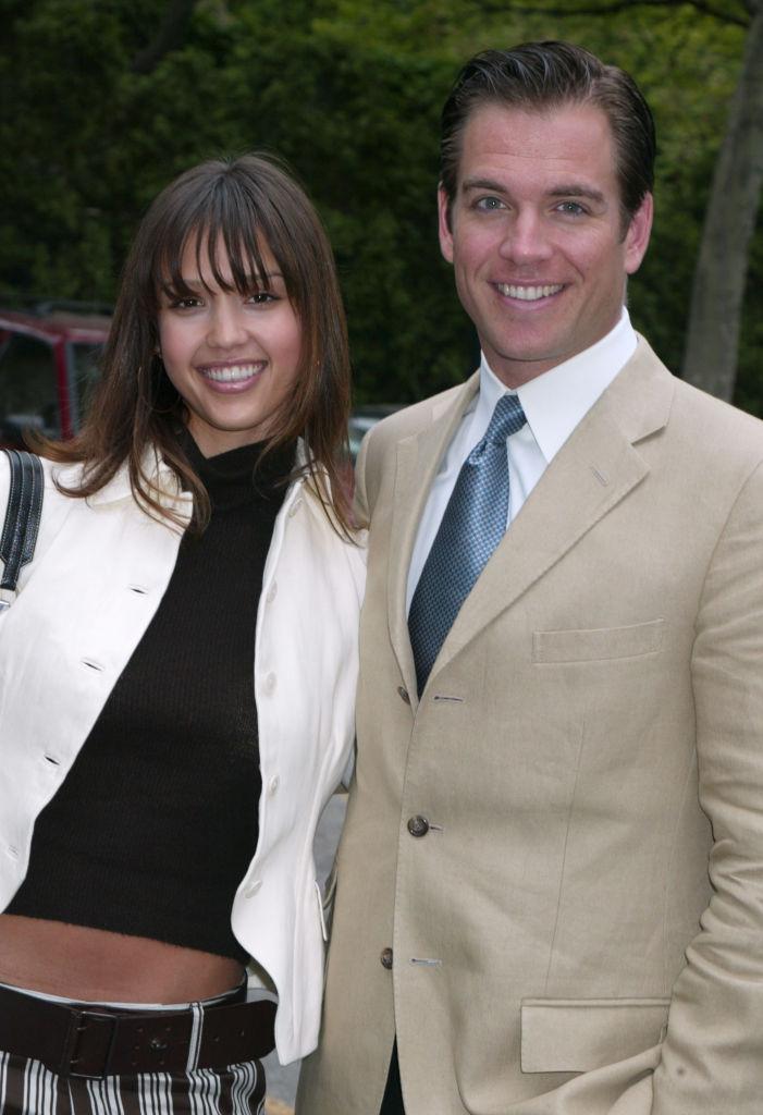 Michael Weatherly and Jessica Alba