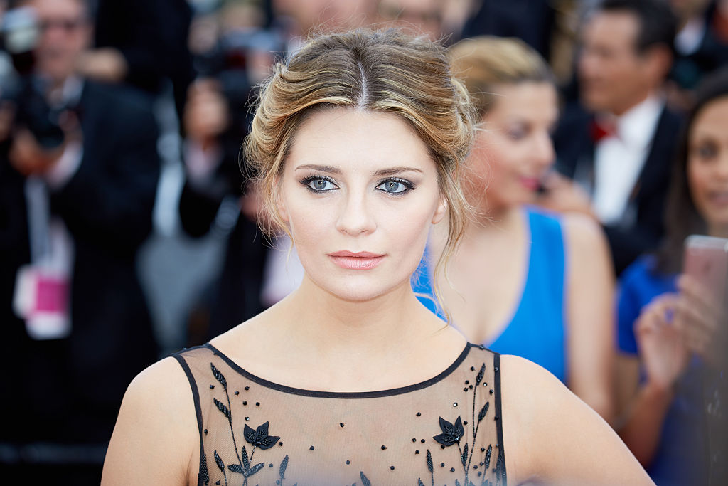 Mischa Barton looking off camera