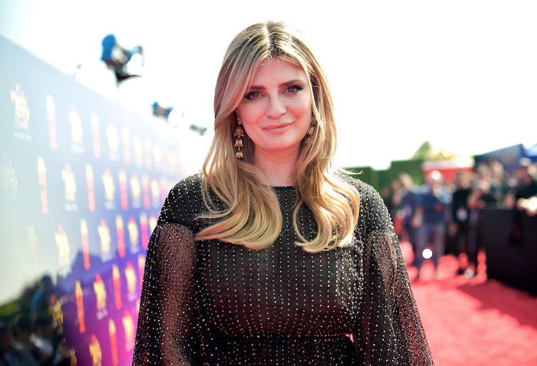 Mischa Barton on the red carpet