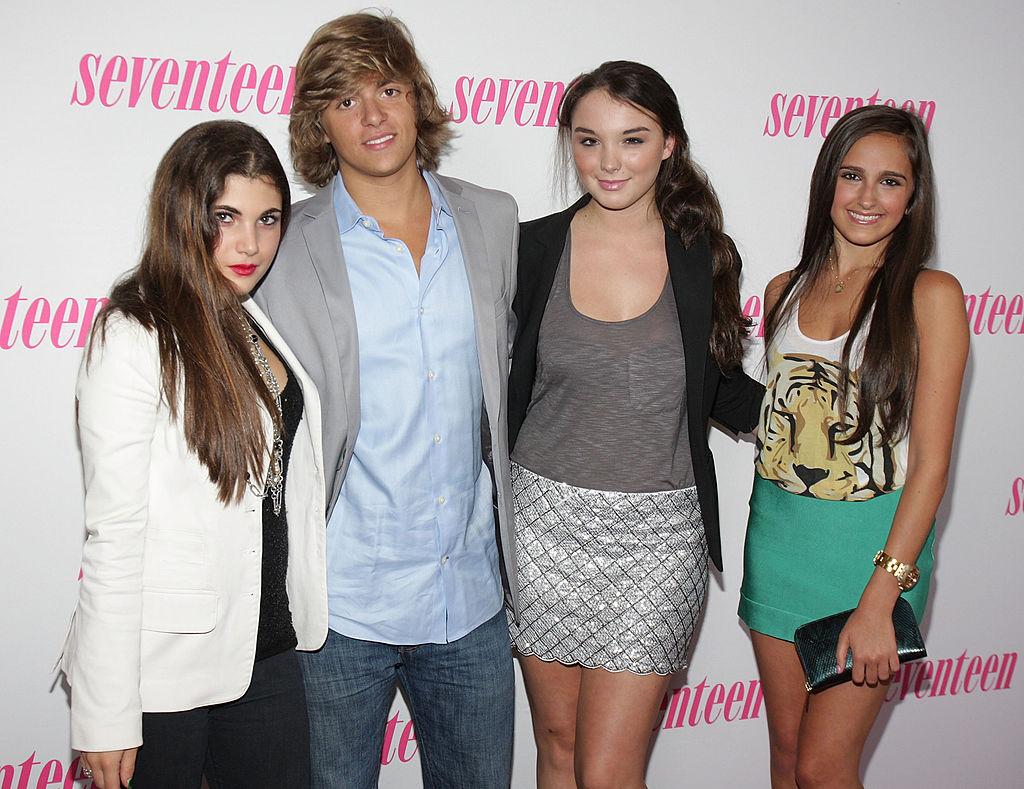NYC Prep's Taylor DiGiovanni, Sebastian Oppenheim, Camille Hughes and Kelli Brooke Tomashoff
